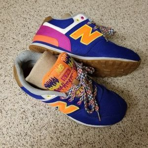 Colorful New Balance - Size 4.5 Youth